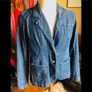 Levi's Denim Blazer Jacket Women's Vintage